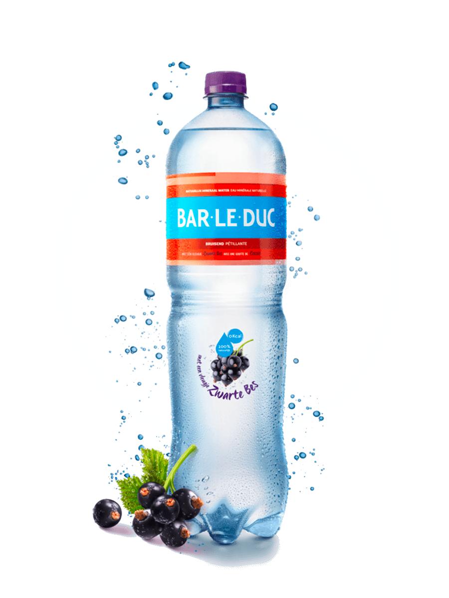 Mineraalwater + Zwarte Bes