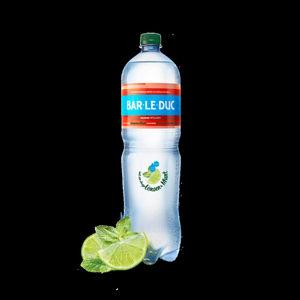 Mineraalwater + Limoen Munt